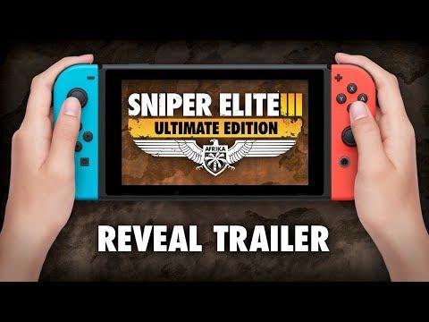 Sniper Elite III: Ultimate Edition выйдет на Nintendo Switch в этом году