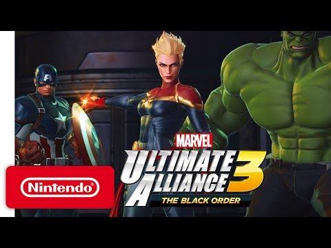Ролевой экшен Marvel Ultimate Alliance 3: The Black Order выйдет 19 июля на Switch