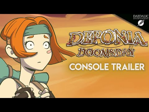 Приключение Deponia вышло на XOne и Switch, а на PS4 и XOne стала доступна коллекция из 4 игр серии