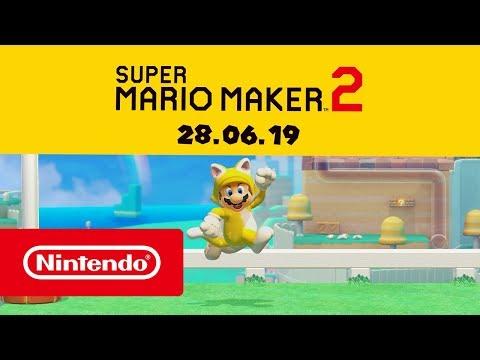 Super Mario Maker 2 для Switch выйдет 28 июня