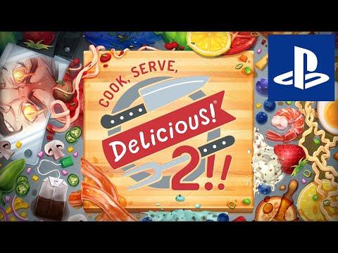 Видео игрового процесса симулятора управления рестораном Cook, Serve, Delicious! 2!!