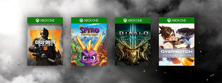 В магазине Xbox стартовали распродажи игр издательств Activision Blizzard и Capcom