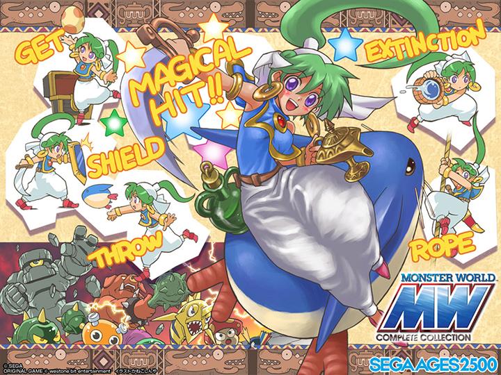 [Игровое эхо] 1 апреля 1994 года — выход Monster World IV для SEGA Mega Drive