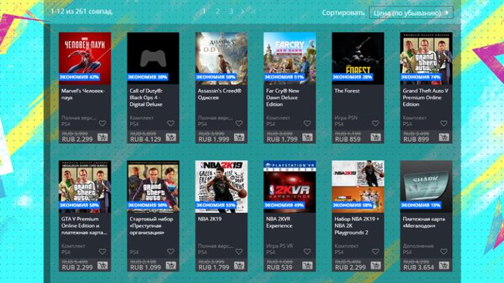 Весенняя распродажа стартовала в российском PlayStation Store