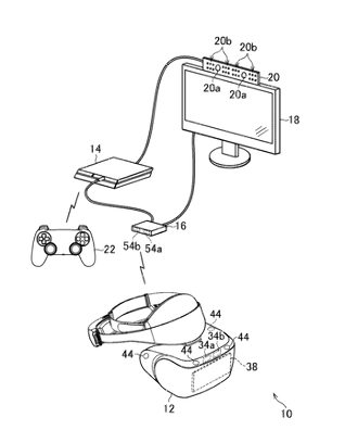 Sony зарегистрировала патент с беспроводным шлемом PlayStation VR