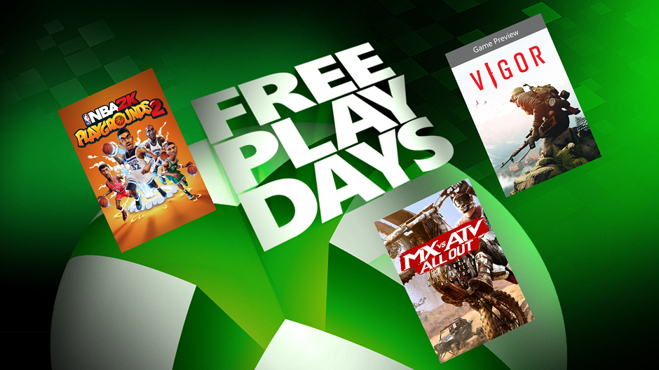 Xbox Free Play Days: NBA 2K Playgrounds 2 и MX vs ATV All Out