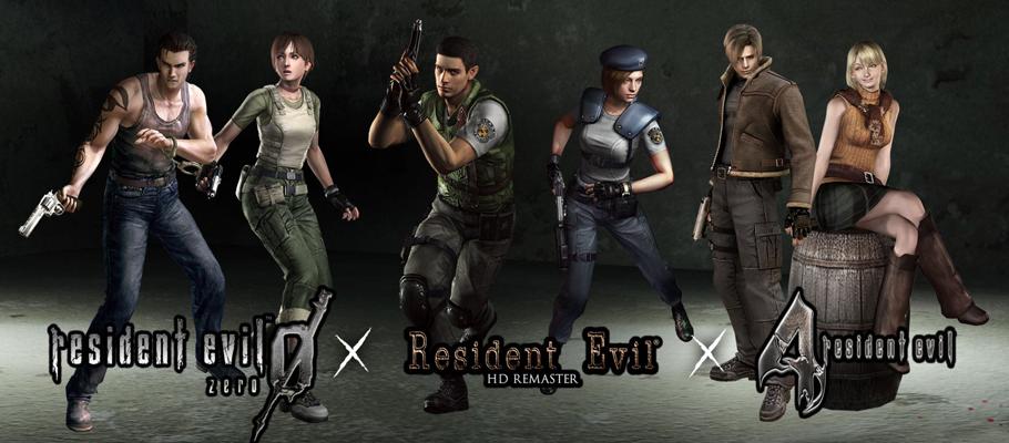 Resident Evil HD Remaster, Resident Evil 0 и Resident Evil 4 выйдут на Nintendo Switch 21 мая